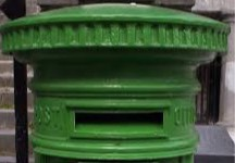 green-postbox-top
