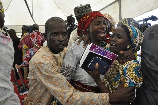 NIGERIA: Chibok girls reunited with families