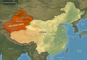xinjiang-map