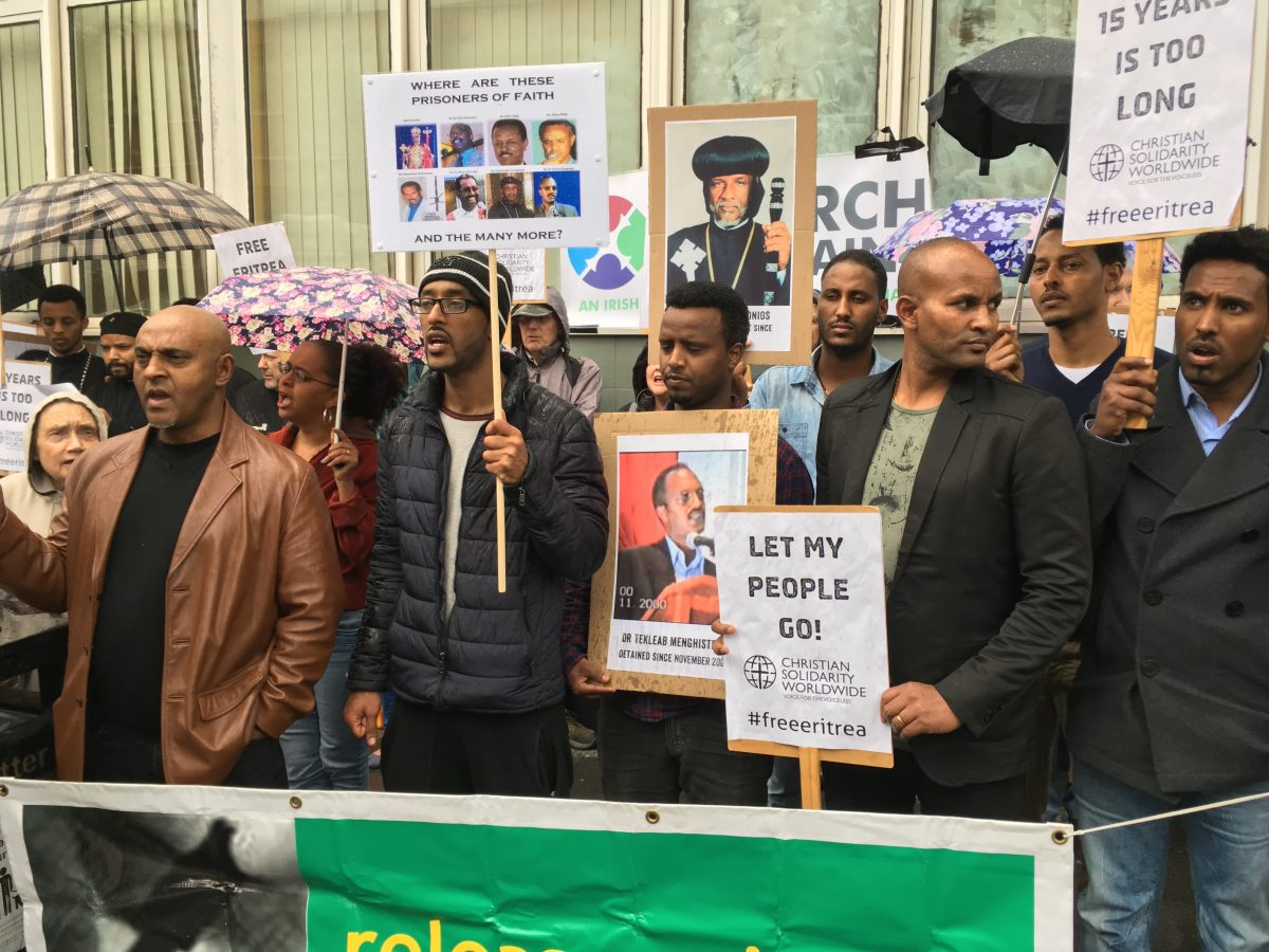 ERITREA: Standing in solidarity with Christian prisoners