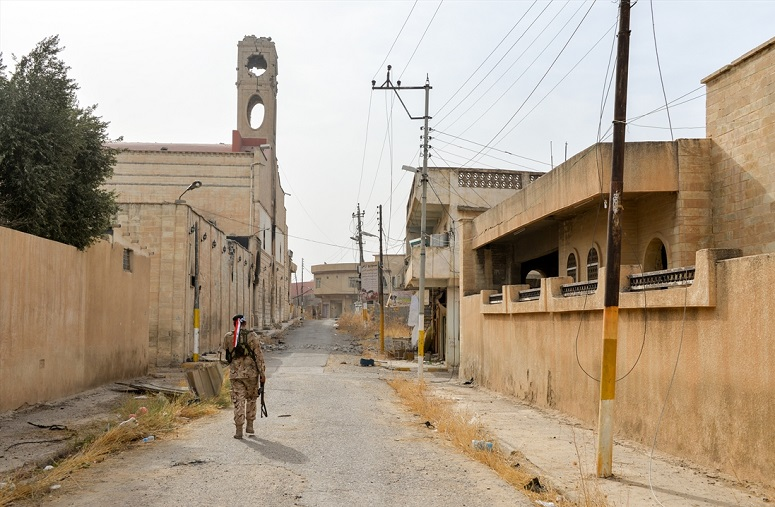 MIDDLE EAST: Report says half of Syria and Iraq's Christians have left since 2011