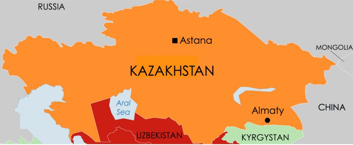 KAZAKHSTAN: Almaty church raided