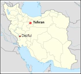 dezful-map