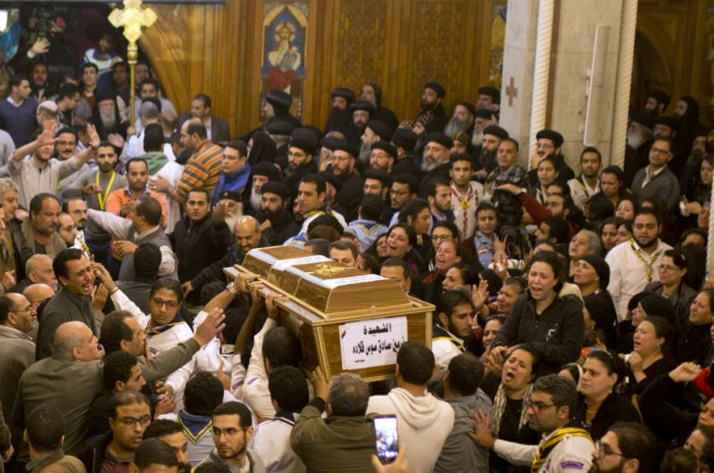 EGYPT: Church attackers kill nine people in Helwan