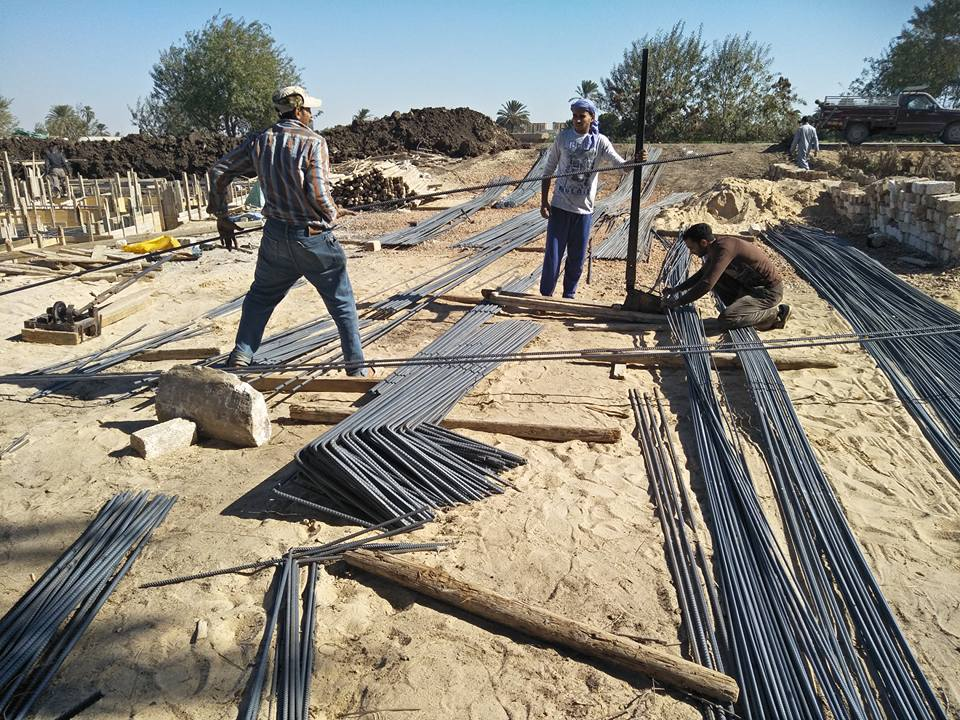 EGYPT: Building starts at Kom El-Loufy