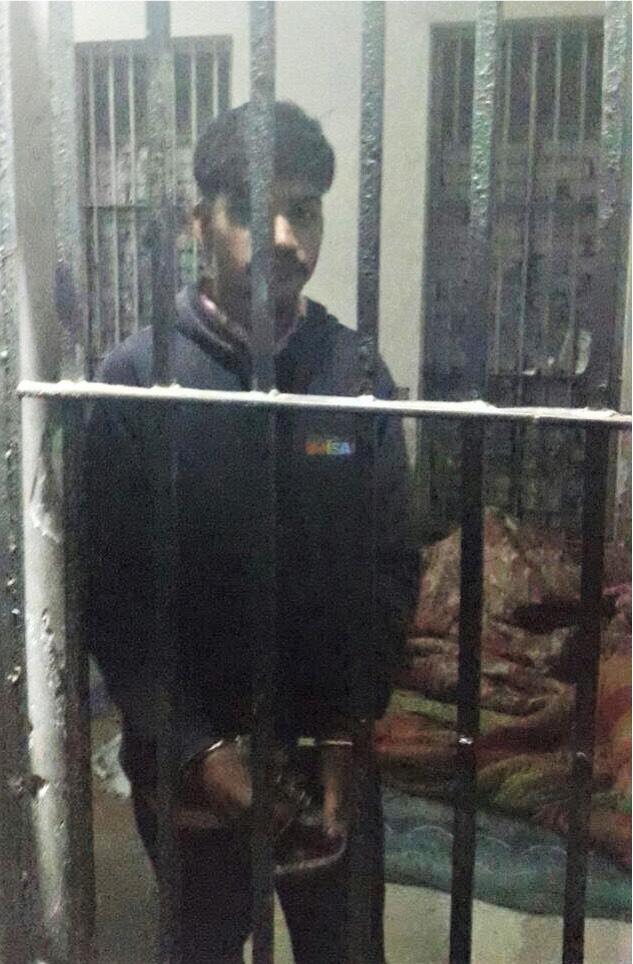 Patras Masih in custody