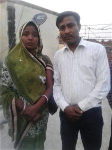 Asha Masih and Pastor Masih
