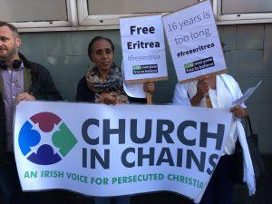 Eritrean Embassy Vigil