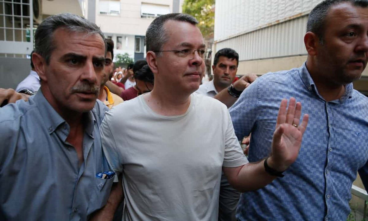 TURKEY: Andrew Brunson moved to house arrest