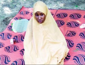 Leah Sharibu in captivity