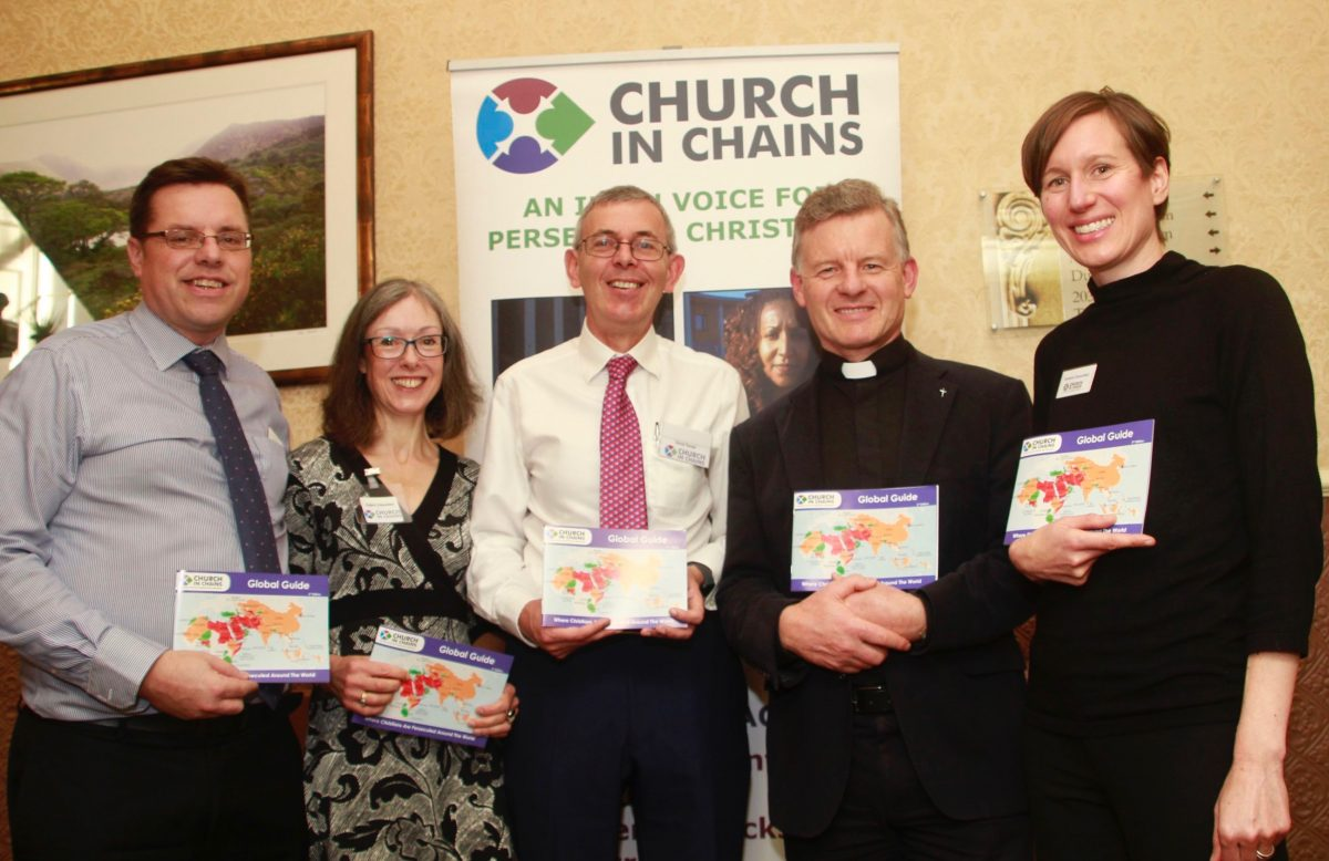 Rev Trevor Sargent launches Church in Chains Global Guide