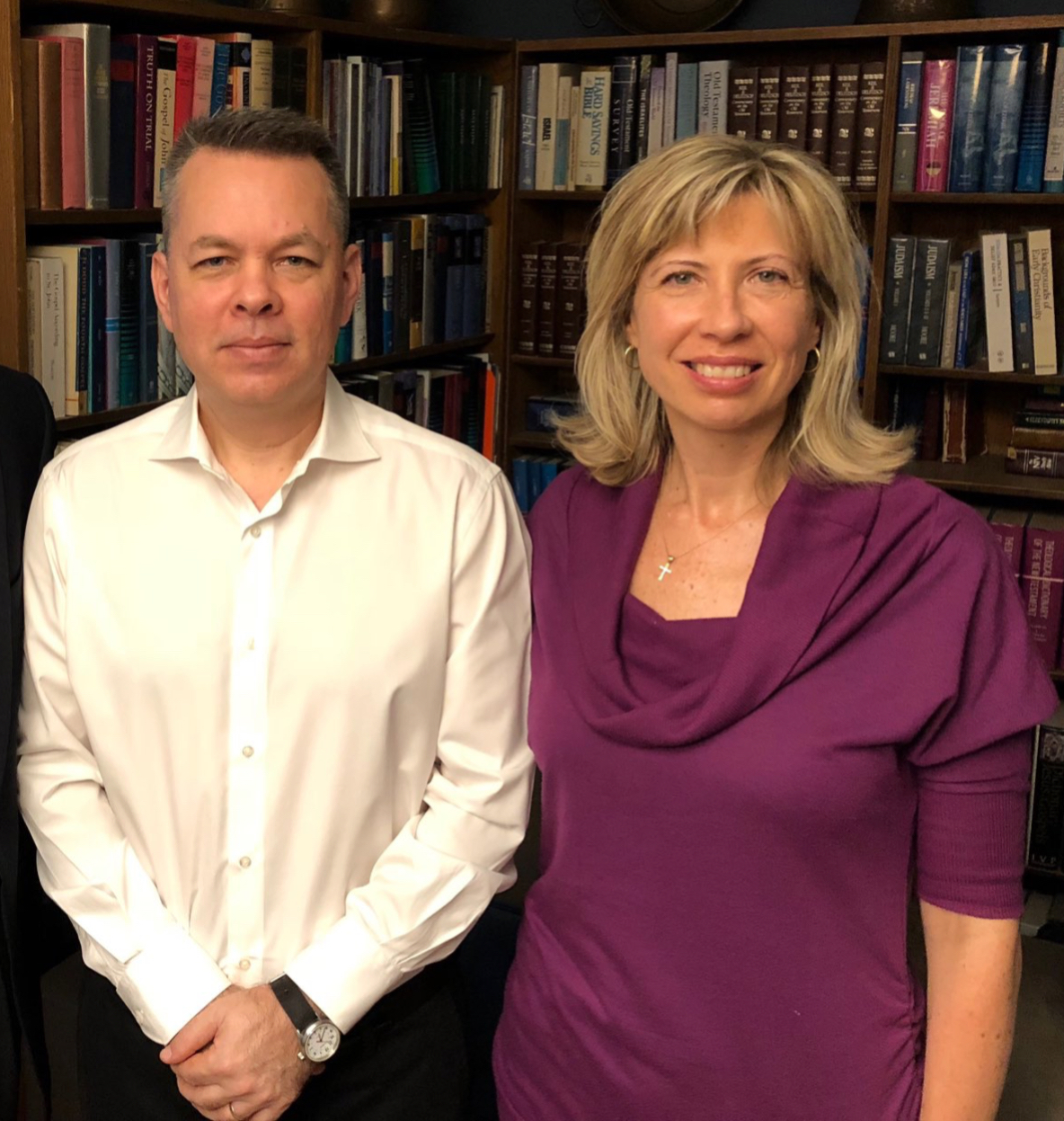 Andrew & Norine Brunson (11 Oct 2018)