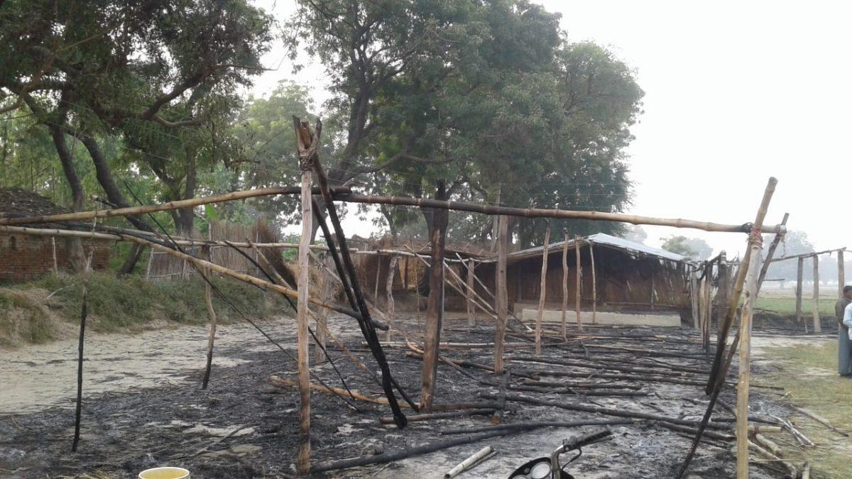 INDIA: Church building burned to ashes in Uttar Pradesh