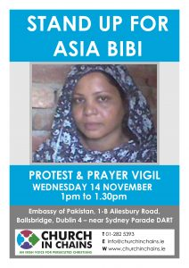 Asia Bibi Demo Flyer
