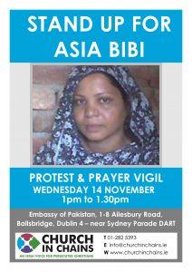 Asia Bibi Demo Flyer