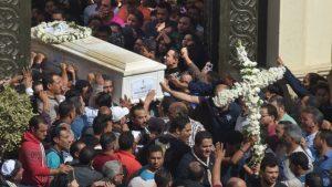 Minya funeral