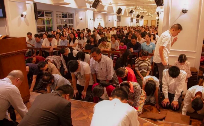 CHINA: Over 100 members of Early Rain Covenant Church arrested