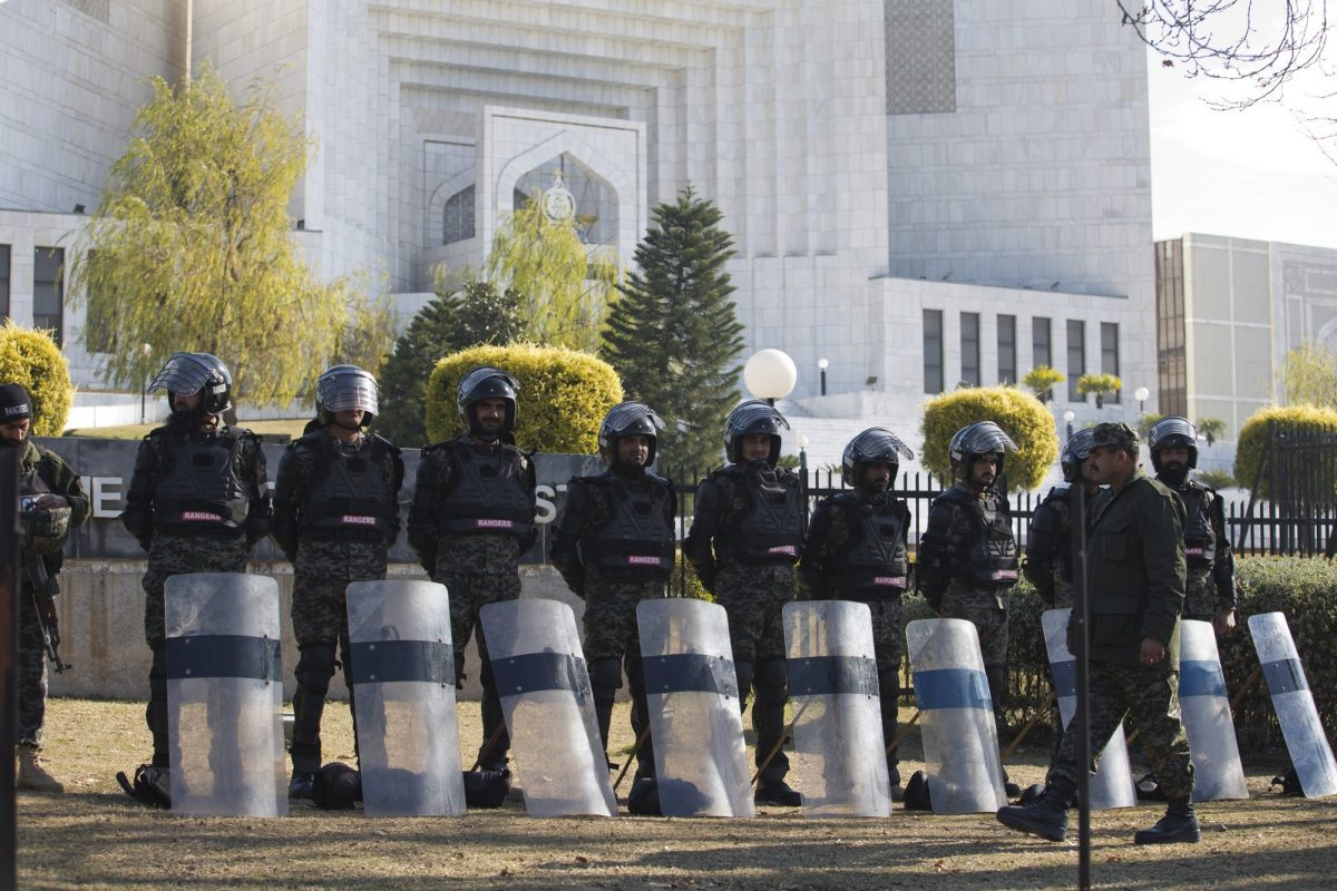 Security at Supreme Court
