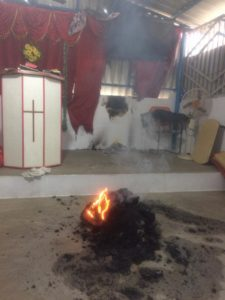 Assemblies of God Church Arson attack