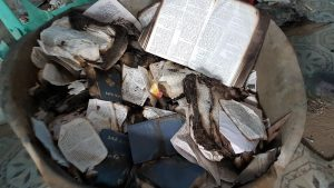 Burnt Bibles in Ethiopia