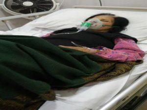 Nawab Masih in hospital