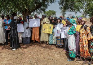 Chibok relatives April 2019