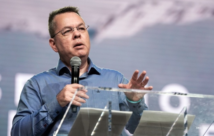 "TURKEY: Andrew Brunson says imprisonment ""stretched me beyond what I could handle"""