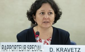 Daniela Kravetz UN Special Rapporteur on human rights in Eritrea