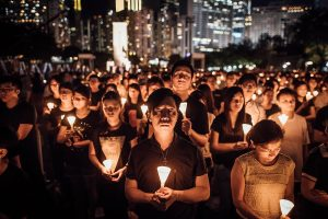 Hong Kong memorial vigil