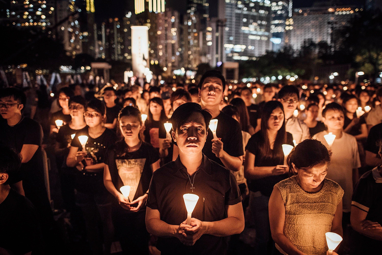 Hong Kong memorial vigil