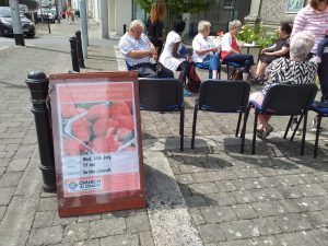 Summer Strawberries Poster Carlow Presbyterian