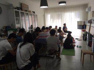 Xunsiding Church meeting in home