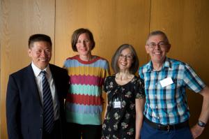 CIC staff with Bob Fu