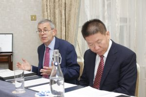 David Turner with Bob Fu (China Report)