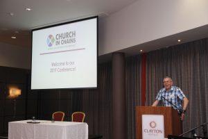 David Turner at 2019 conference