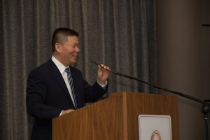 Bob Fu speaking at 2019 conference
