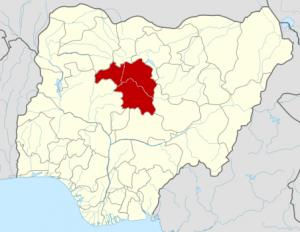 Kaduna state map