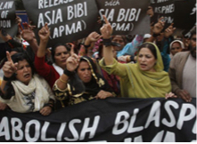 Abolish Blasphemy Laws protest Pakistan