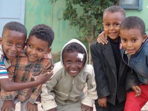 Boys in Eritrea