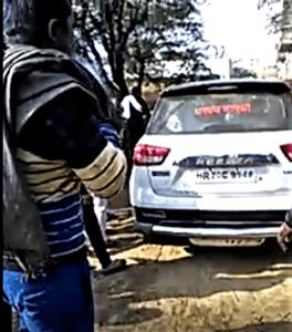 Car used in Bichpari attack