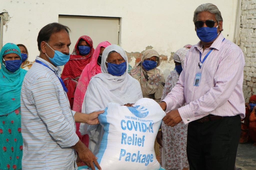 PAKISTAN: Covid-19 aid distribution gets underway