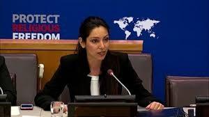 Sabrina Bet-Tamraz at UN in New York
