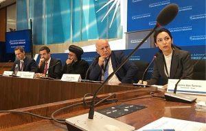 Sabrina Bet-Tamraz at Ministerial