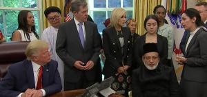 Sabrina Bet-Tamraz at White House