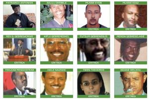 Grid of Eritrean Prisoners