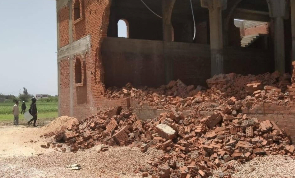 EGYPT: One church building opened; one destroyed