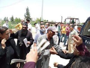 Koum al-Farag protest