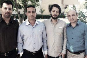 Four Christian prisoners from Rasht