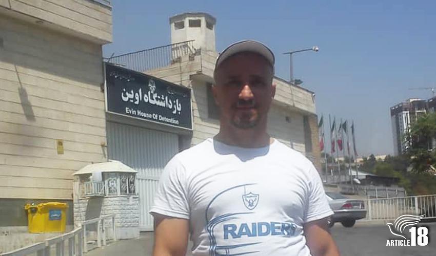 IRAN: Mohammadreza Omidi  released