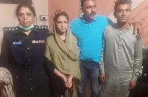 Arzoo after rescue